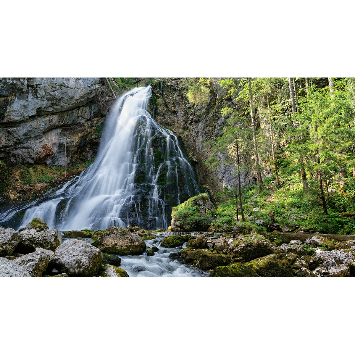 """5. Franke Dieter - """"Gollinger Wasserfall"""""""