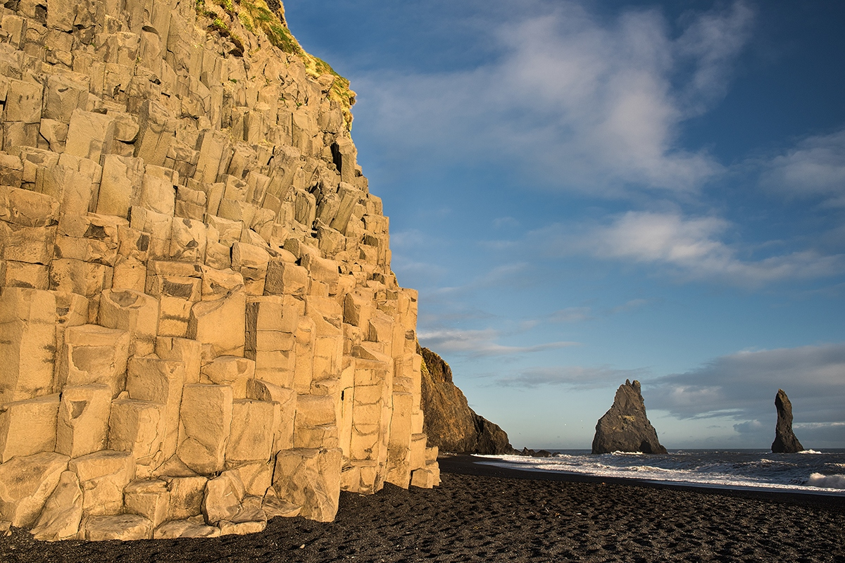 Basaltsäulen von Reynisfjara - Island