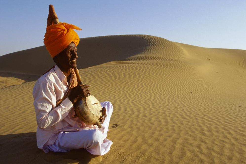Wüste Thar in Indien