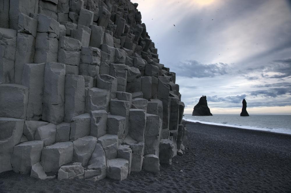 Basaltsäulen in Island