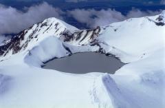 Vulkan Mt. Ruhapeu in Neuseeland