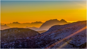 14 Friedrich Bleier - Sonnenaufgang